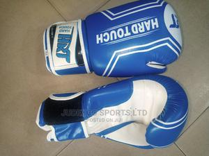 Hard Touch Original Leather Boxing Gloves | Sports Equipment for sale in Lagos State, Surulere