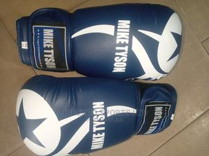 Mike Tyson Original Martial Arts Leather Boxing Gloves | Sports Equipment for sale in Lagos State, Surulere