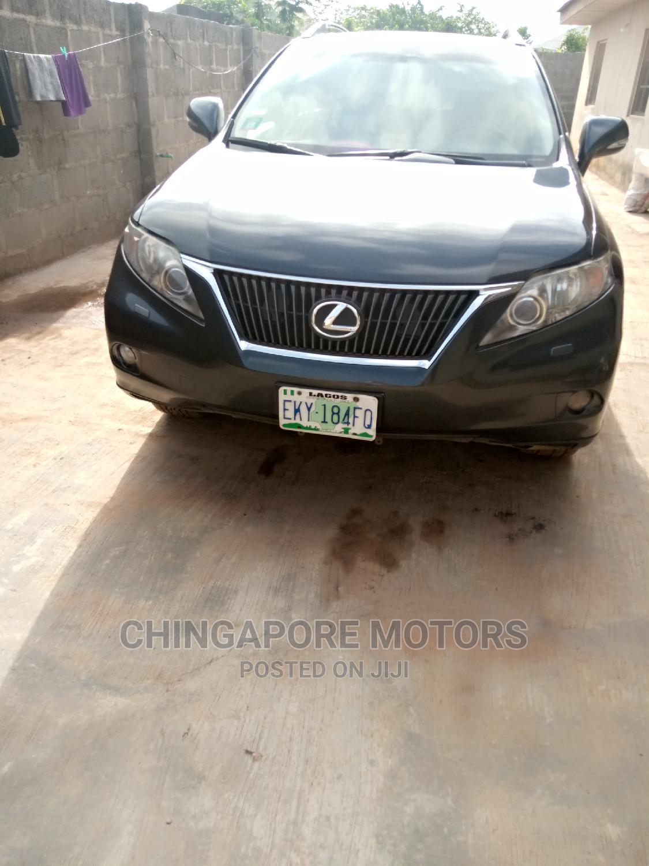 Lexus RX 2010 350 Gray   Cars for sale in Ikorodu, Lagos State, Nigeria