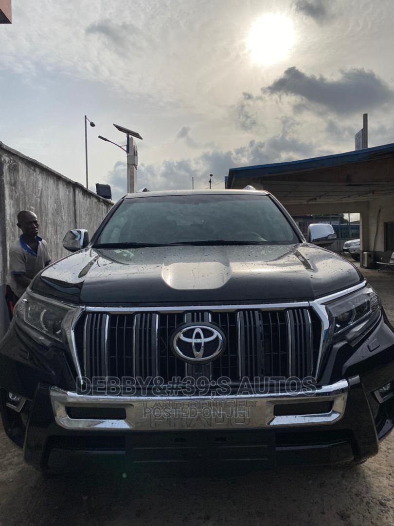 Toyota Land Cruiser Prado 2018 VXR Black