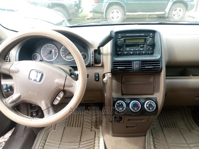 Archive: Honda CR-V 2002 Gold