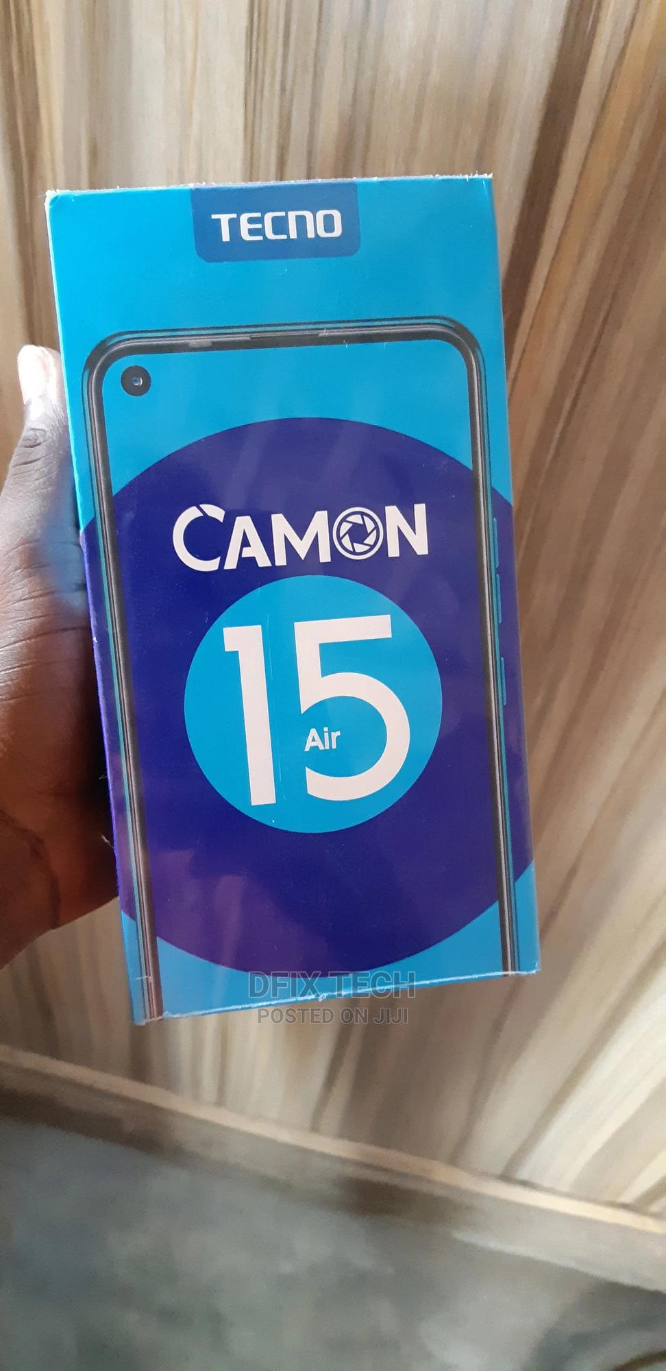 Archive: New Tecno Camon 15 Air 64 GB Blue