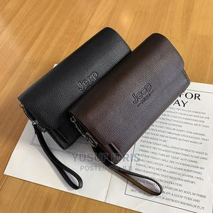 Men Clutch Bag Male Wallet Business Purse Men's Handbag Flap | Bags for sale in Lagos State, Agege