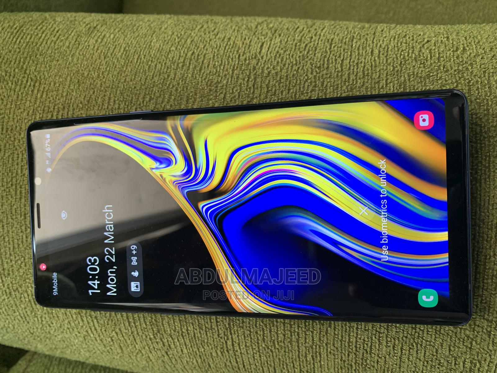Samsung Galaxy Note 9 128 GB Blue   Mobile Phones for sale in Offa, Kwara State, Nigeria