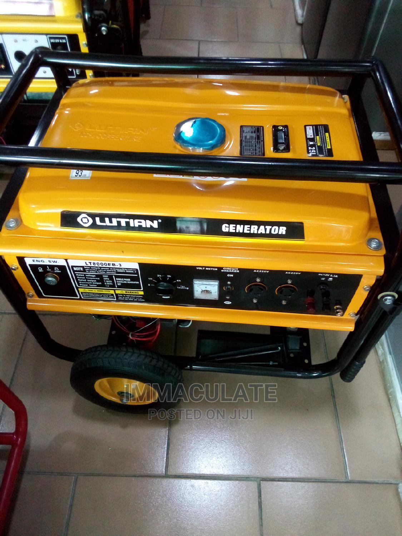 Lutian Generator 8kva