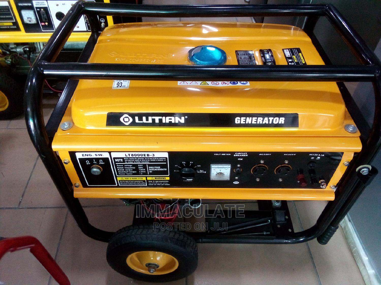 Lutian Generator 8kva | Electrical Equipment for sale in Port-Harcourt, Rivers State, Nigeria