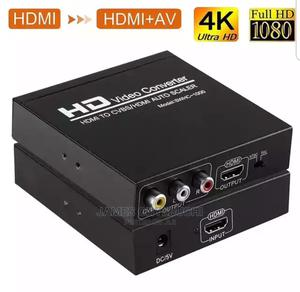 HDMI 4k to AV Video Converter With HDMI Output   Accessories & Supplies for Electronics for sale in Lagos State, Ojo