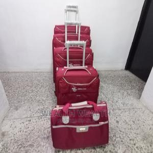 Standard Quality Swiss Polo Luggage, 4 In 1 With Hand Bag | Bags for sale in Lagos State, Ikeja