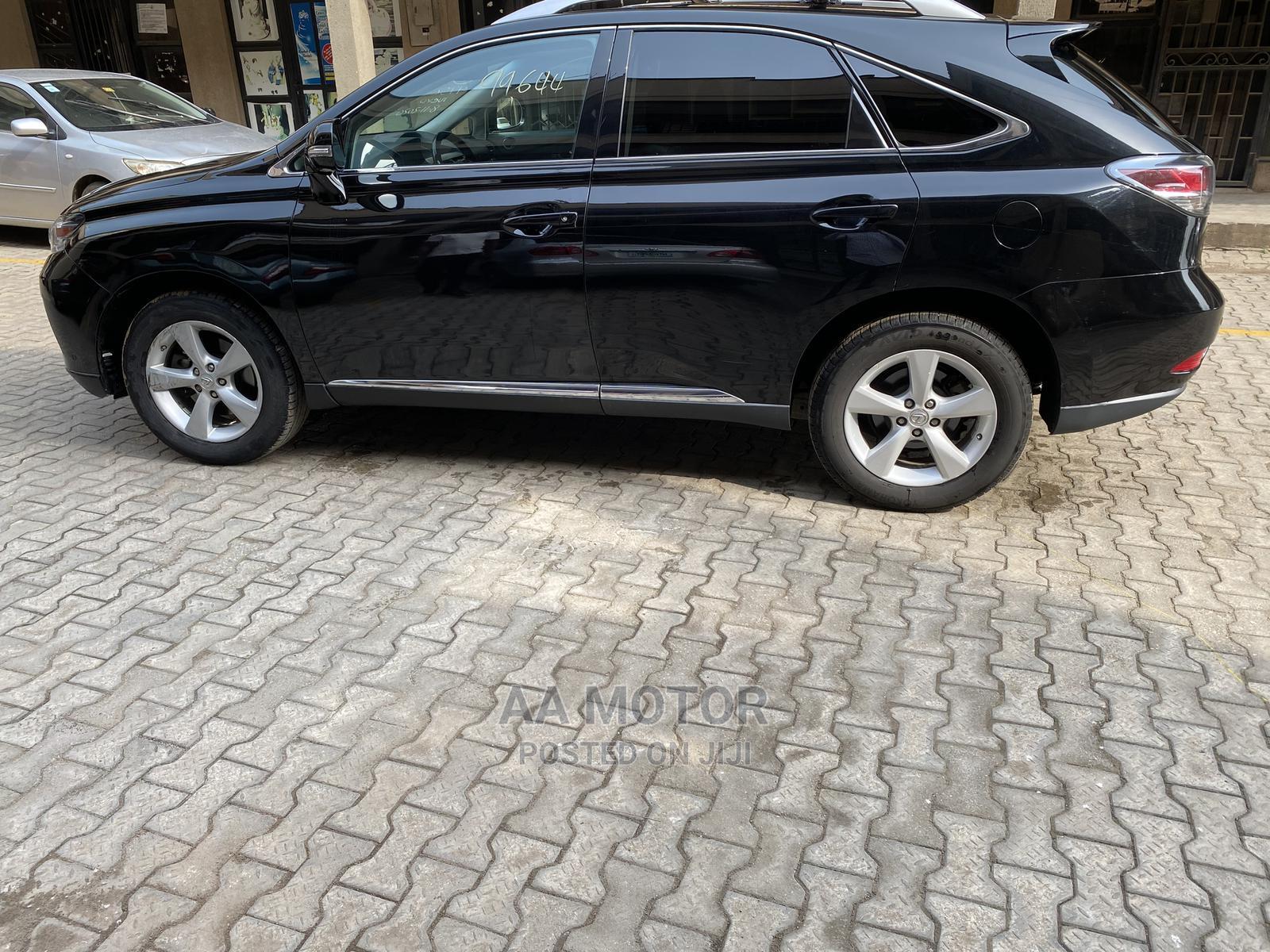Lexus RX 2013 350 FWD Black | Cars for sale in Ikeja, Lagos State, Nigeria