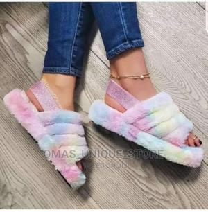 Fur Sandals | Shoes for sale in Lagos State, Isolo