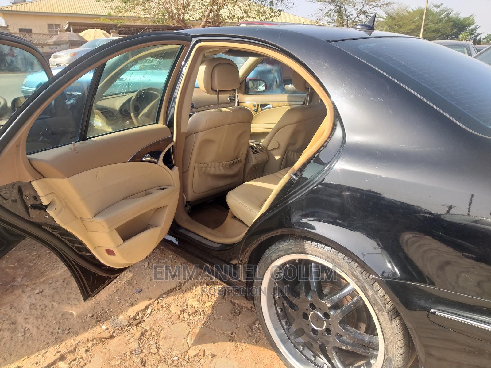 Mercedes-Benz E350 2008 Black   Cars for sale in Nyanya, Abuja (FCT) State, Nigeria