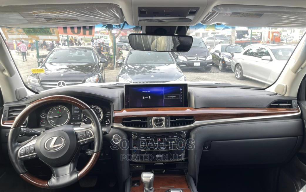 Archive: Lexus LX 2017 570 Base Pearl