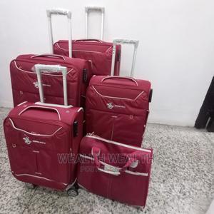 Standard Trolley Luggages Sold in 4 Set With a Hand Bag | Bags for sale in Lagos State, Ikeja