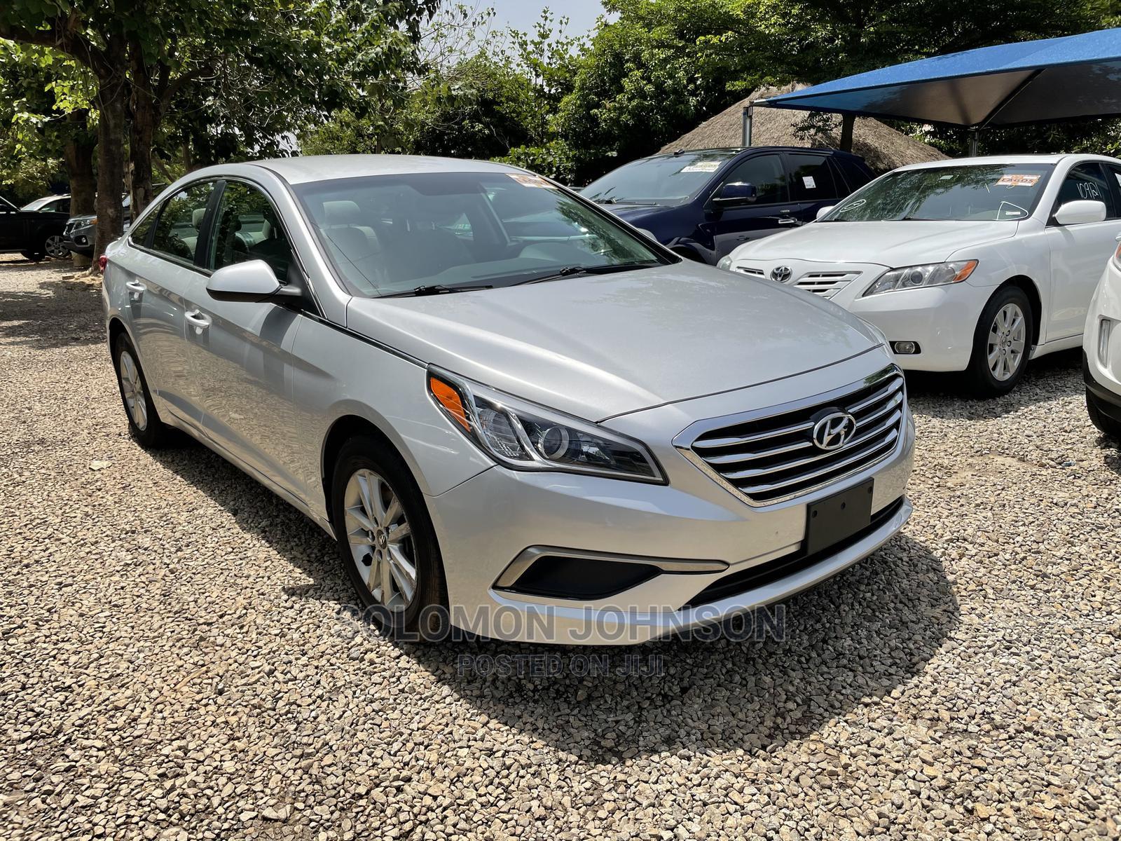 Hyundai Sonata 2016 Silver