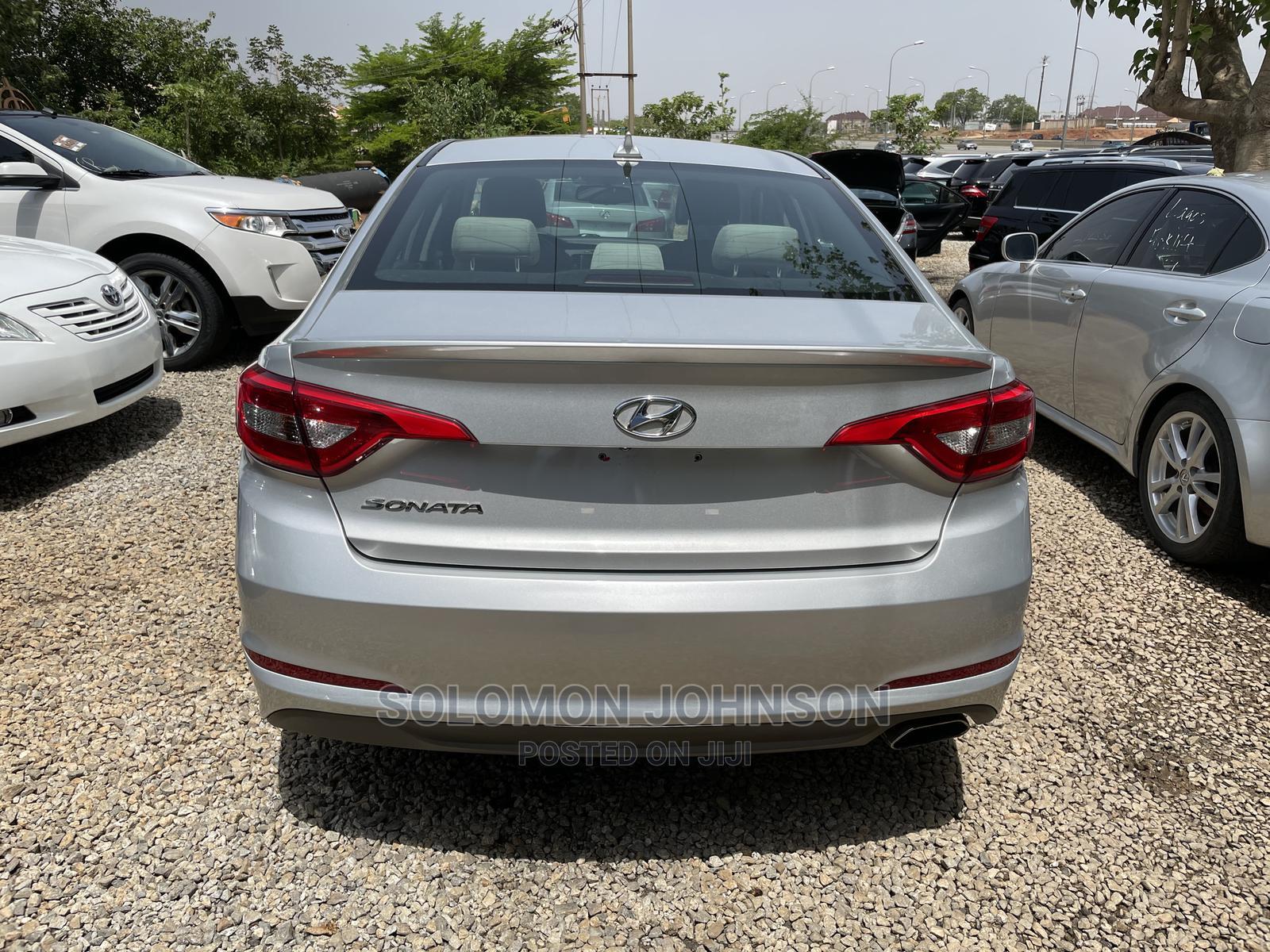Hyundai Sonata 2016 Silver | Cars for sale in Gwarinpa, Abuja (FCT) State, Nigeria