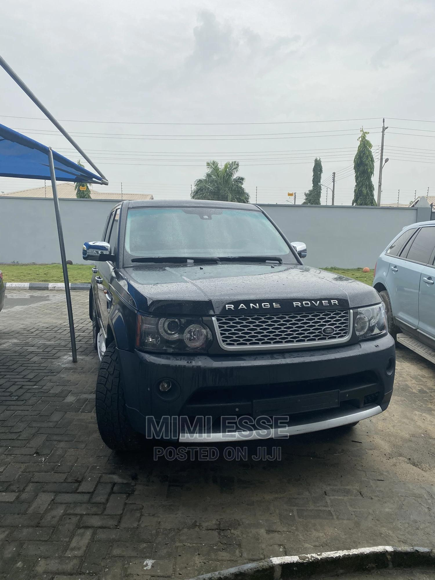 Land Rover Range Rover Sport 2012 Black | Cars for sale in Ajah, Lagos State, Nigeria