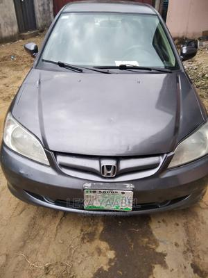Honda Civic 2005 Sedan LX Automatic Gray | Cars for sale in Rivers State, Port-Harcourt
