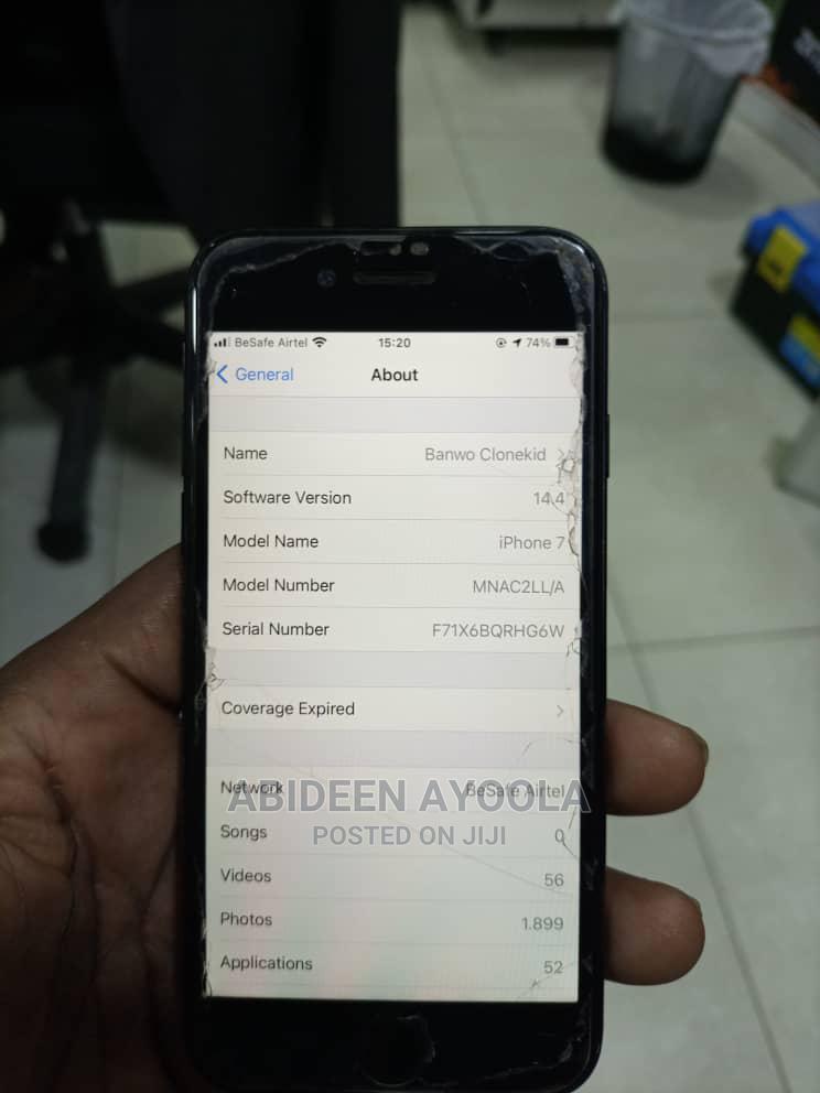 Apple iPhone 7 32 GB Black | Mobile Phones for sale in Lagos Island (Eko), Lagos State, Nigeria