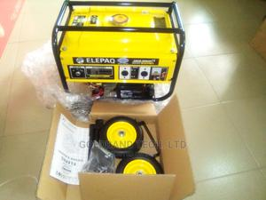 Elepaq 5kva Automatic Gen With Handle, Key Start and Tyre | Electrical Equipment for sale in Lagos State, Alimosho