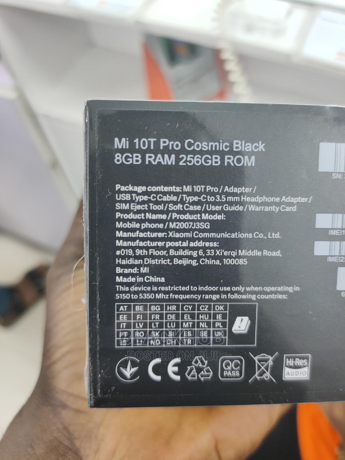 New Xiaomi Mi 10T Pro 5G 256GB | Mobile Phones for sale in Ikeja, Lagos State, Nigeria