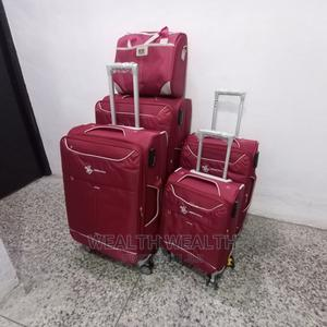 Traveling Bags, 4 in 1 With a Hand Bag, ( 4wheels Trolley) | Bags for sale in Lagos State, Ikeja