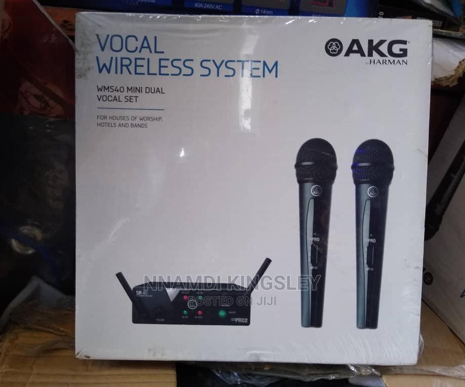 Archive: Akg Vocial Wireless Mic Wms40 Mini Dual