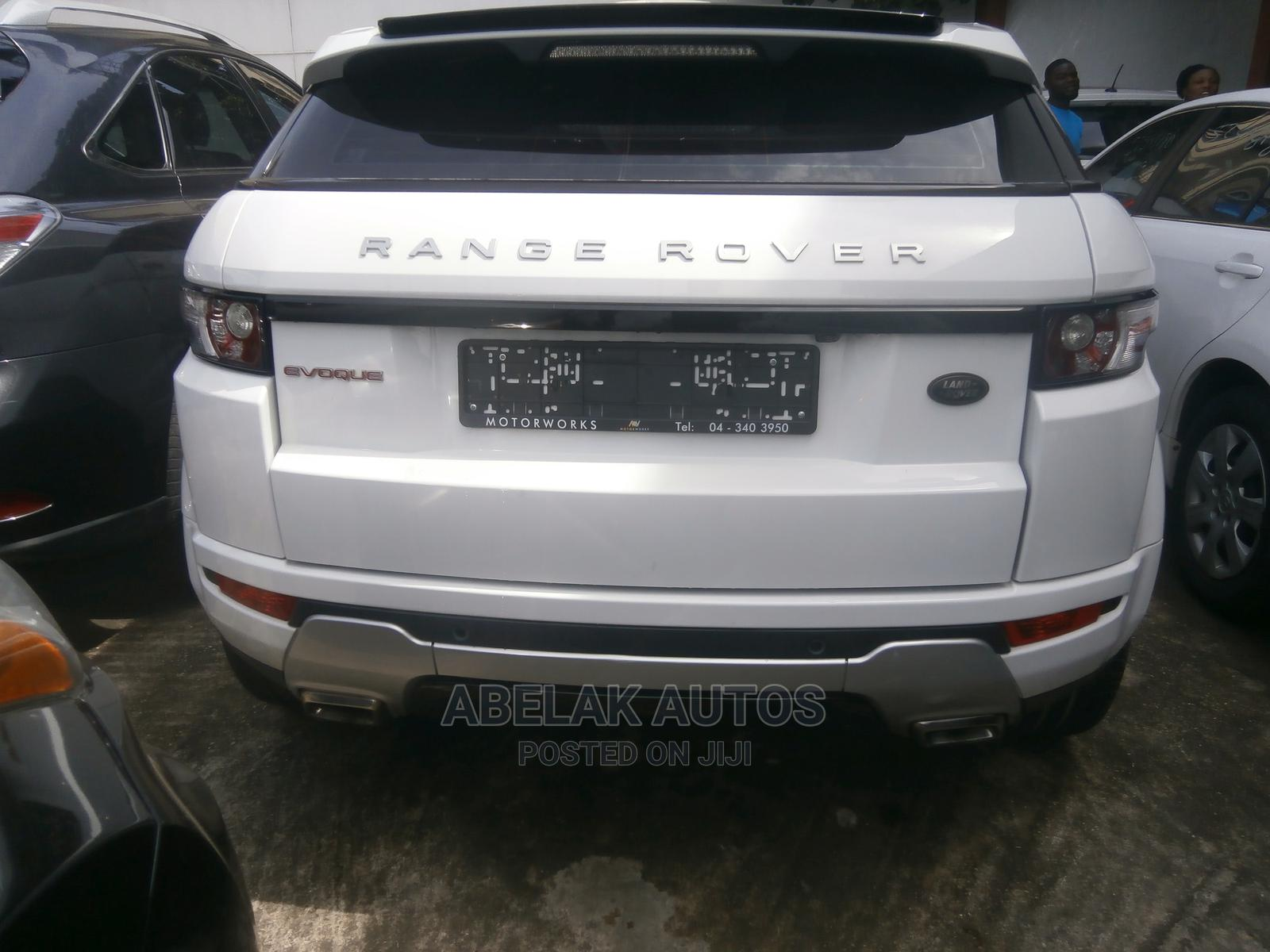 Land Rover Range Rover Evoque 2013 White | Cars for sale in Ikeja, Lagos State, Nigeria