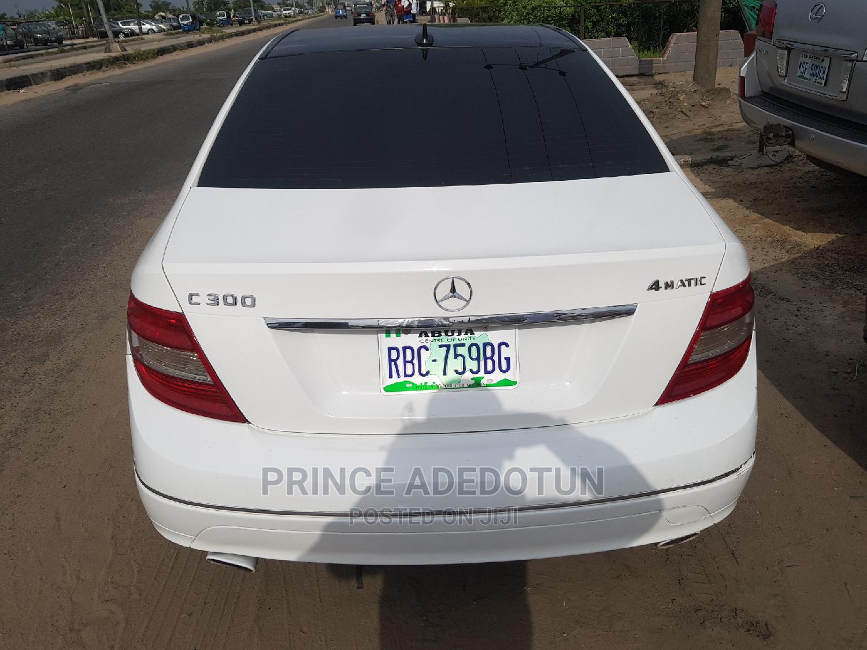 Mercedes-Benz C300 2010 White | Cars for sale in Uvwie, Delta State, Nigeria