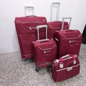 Travelers Luggage, 4wheels Trolley! 4 in 1 With a Hand Bag | Bags for sale in Lagos State, Ikeja