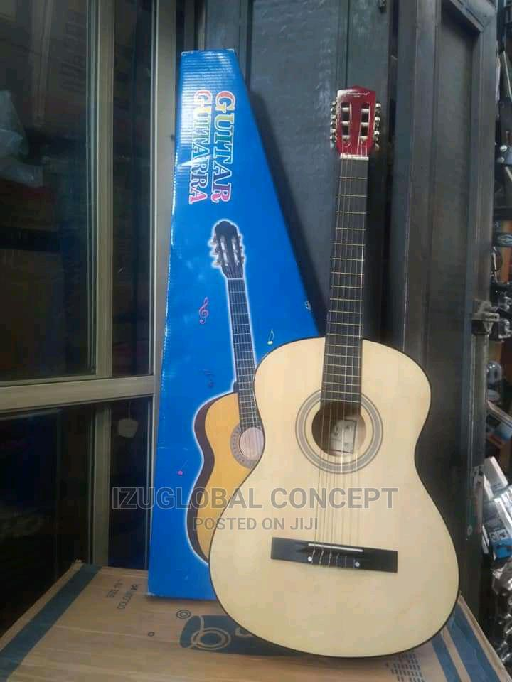 Archive: Acoustic Box Guitar With Bag and Strap - 38'' or 39