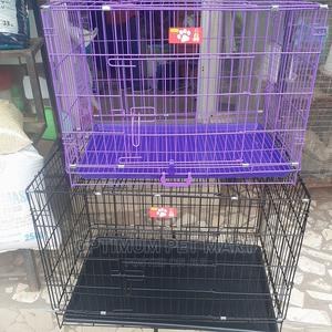 Dog Collapsible Cage | Pet's Accessories for sale in Lagos State, Egbe Idimu