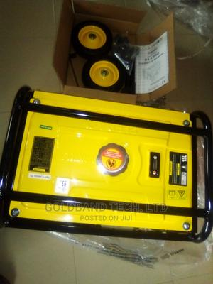 Elepaq 5.0kva Automatic Gen With Full Kits of Tyre and Key | Electrical Equipment for sale in Lagos State, Ikeja