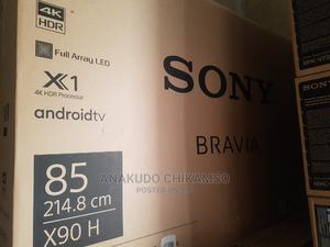 85inches Sony Bravia Andriod Smart Tv | TV & DVD Equipment for sale in Lagos State, Ojo