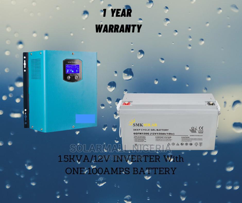 1.5kva/12v Inverter With 100ah Battery.