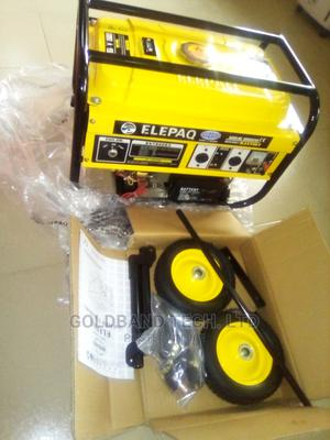 Elepaq 5kva Automatic Gen With Full KIT and Tyre | Electrical Equipment for sale in Lagos State, Agboyi/Ketu