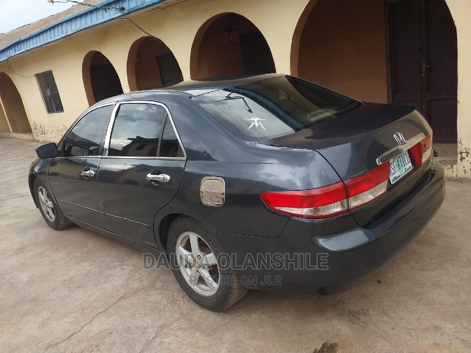 Archive: Honda Accord 2004 2.4 Type S Automatic Green