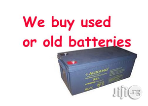 Sell Your Used Inverter Battery In Bariga, Shomolu   Electrical Equipment for sale in Lagos State, Shomolu