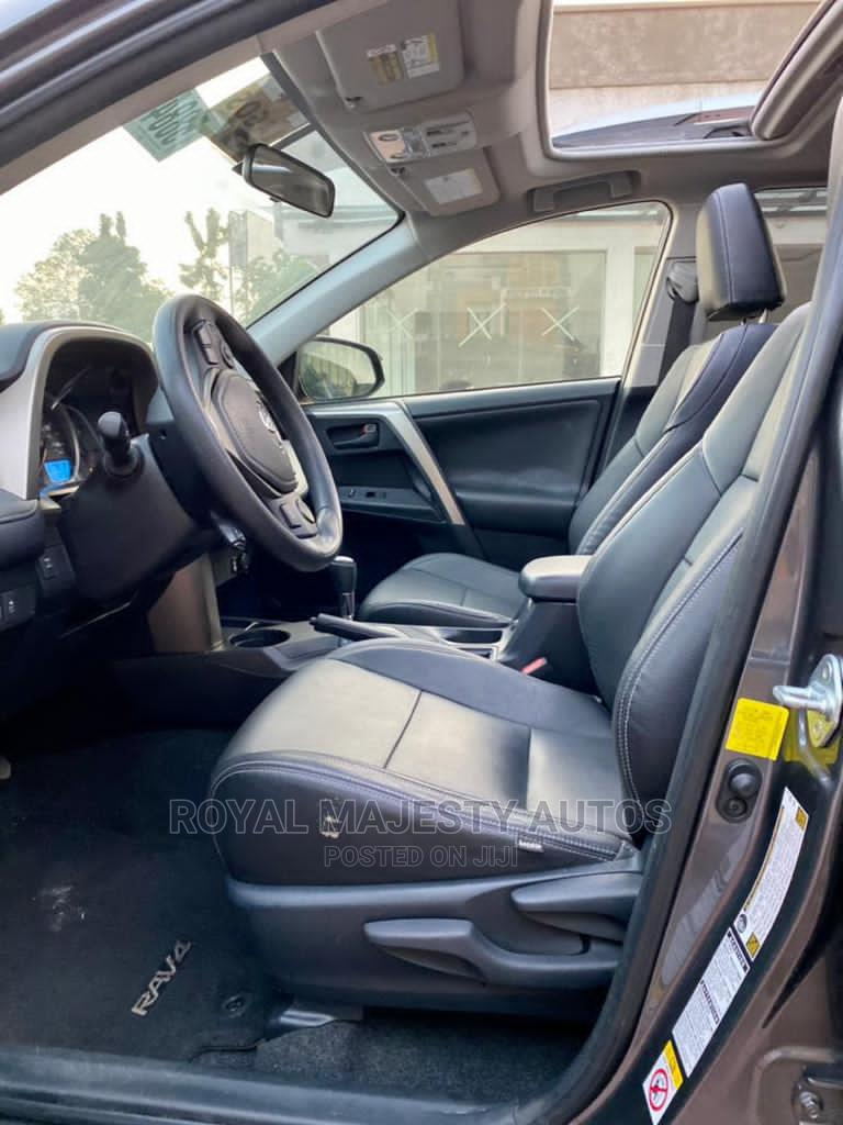 Toyota RAV4 2013 XLE AWD (2.5L 4cyl 6A) Gray | Cars for sale in Ikeja, Lagos State, Nigeria