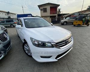 Honda Accord 2015 White | Cars for sale in Lagos State, Surulere