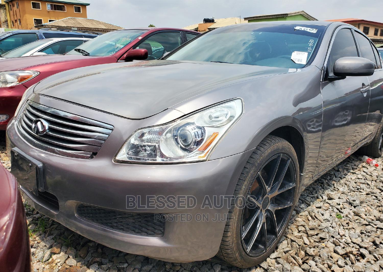Infiniti G 2008 Gray | Cars for sale in Ifako-Ijaiye, Lagos State, Nigeria