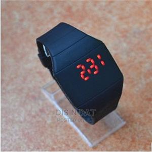 Ultra-Thin LED Unisex Slim Touch Screen Silicon Digital Watc   Watches for sale in Lagos State, Ikotun/Igando