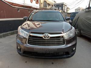 Toyota Highlander 2016 XLE V6 4x4 (3.5L 6cyl 6A) Gray | Cars for sale in Lagos State, Shomolu