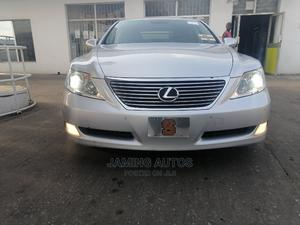 Lexus LS 2008 460 Silver | Cars for sale in Lagos State, Alimosho