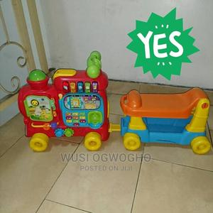 Preloved Vtech Sit-To-Stand Activity Train for Sale in Porth | Toys for sale in Rivers State, Port-Harcourt
