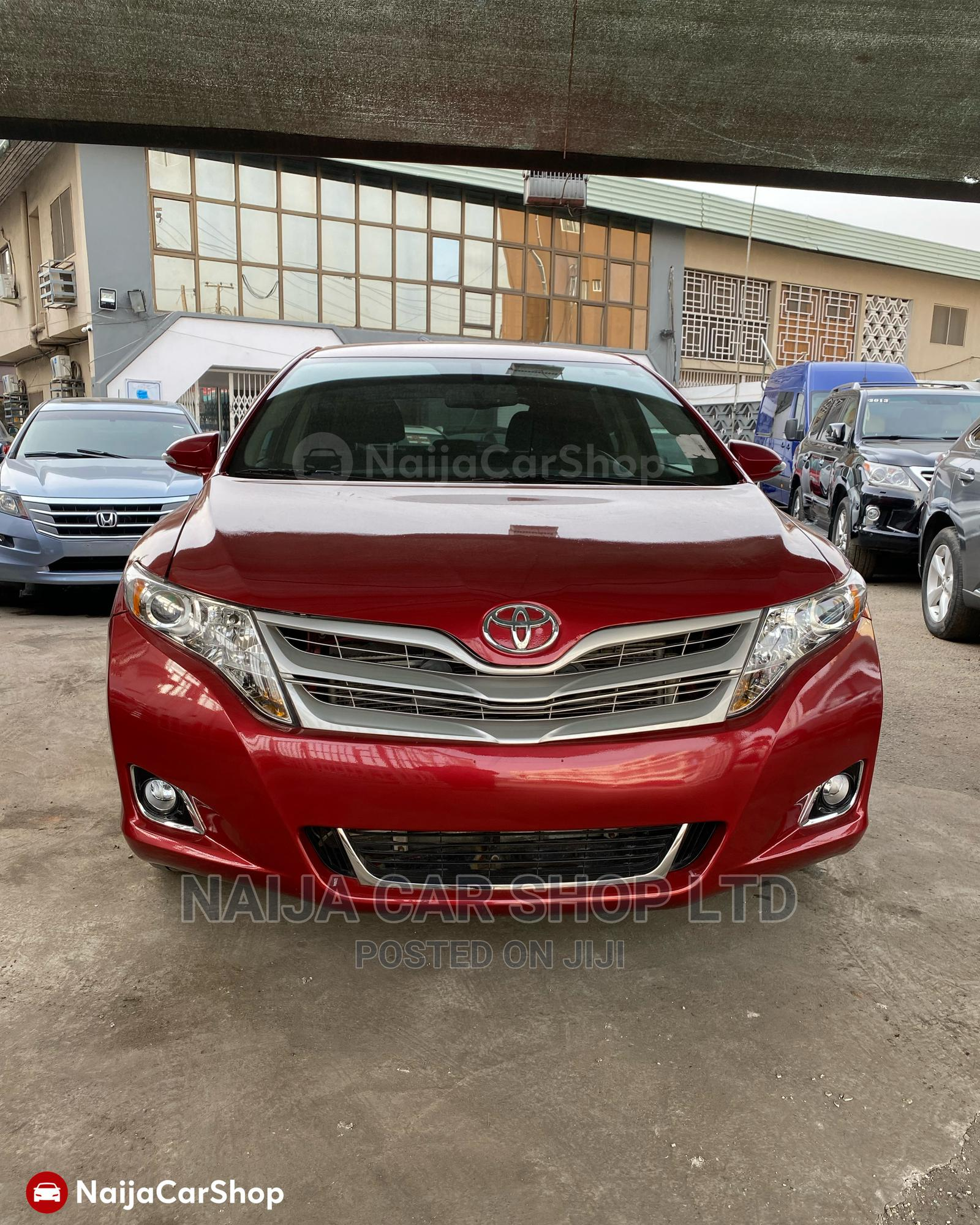 Toyota Venza 2013 LE FWD Red   Cars for sale in Ikeja, Lagos State, Nigeria