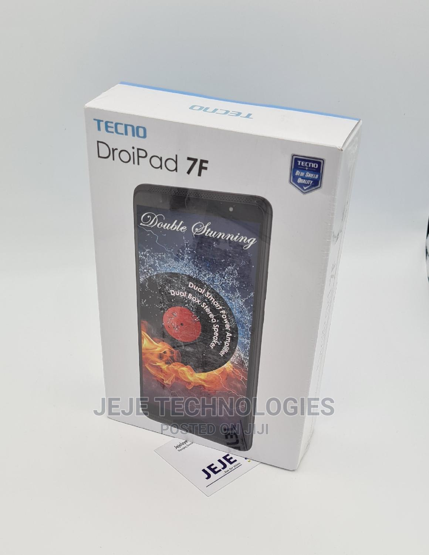 New Tecno DroiPad 7F 16 GB Black   Tablets for sale in Ikeja, Lagos State, Nigeria