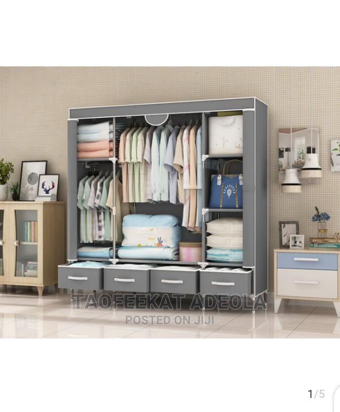 Quality Storage Wardrobe + 4 Drawers L-150x B-45x H170cm