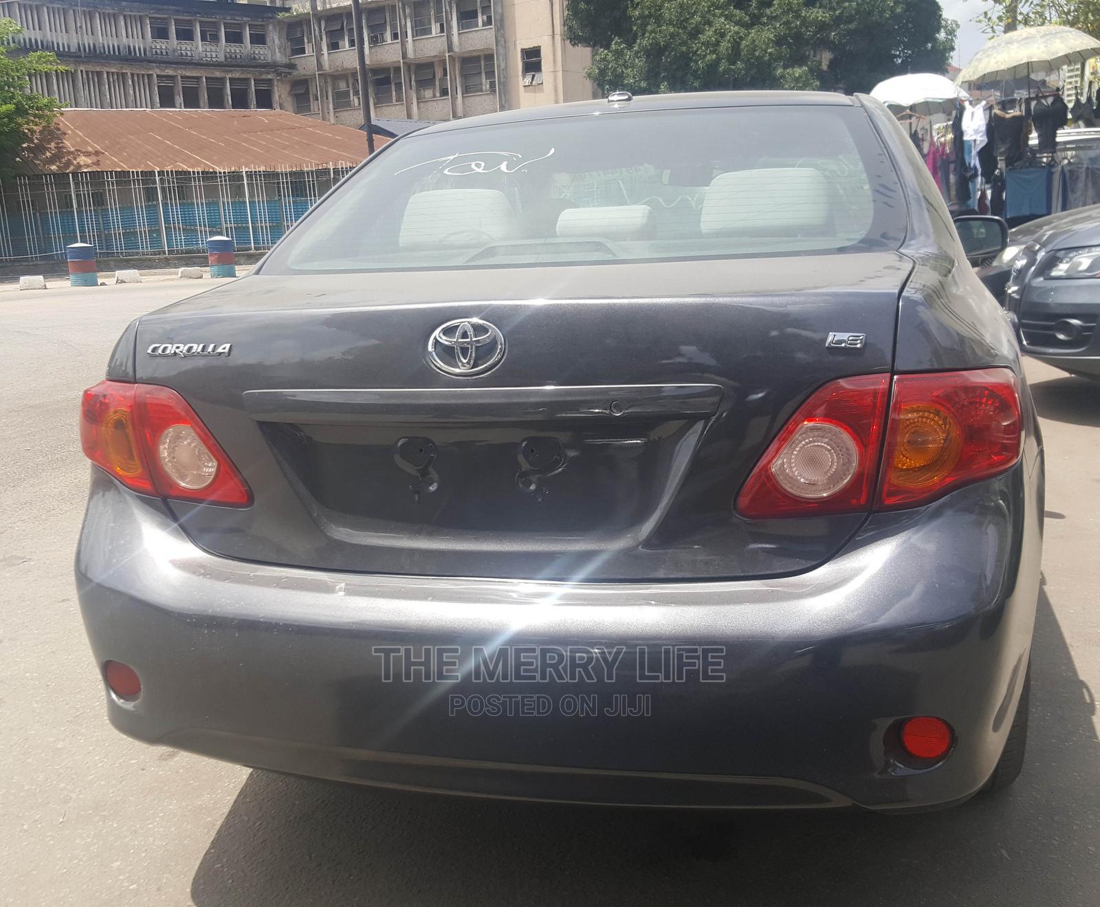 Toyota Corolla 2008 1.8 LE Gray | Cars for sale in Lagos Island (Eko), Lagos State, Nigeria