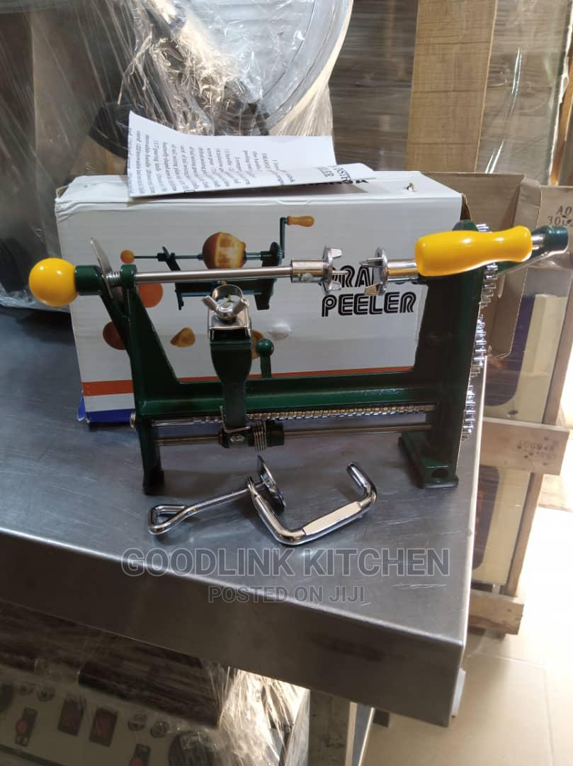 Manual Orange Peeler