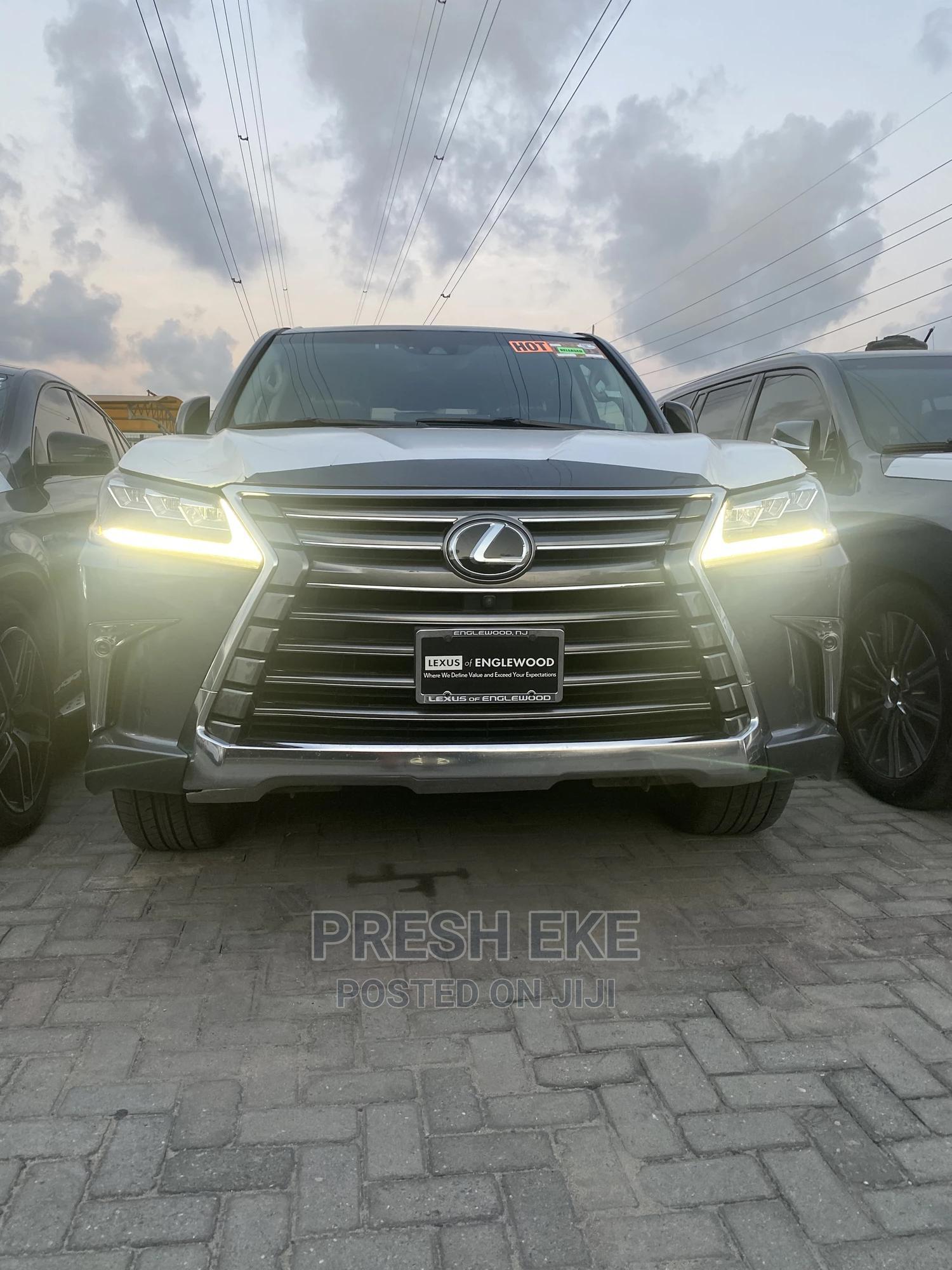 Lexus LX 2017 570 Base Gray